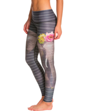 Floral Leggings by Tekki Collections