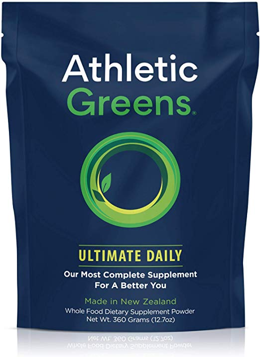 Athletic Greens Whole Food Dietary Supplement Powder