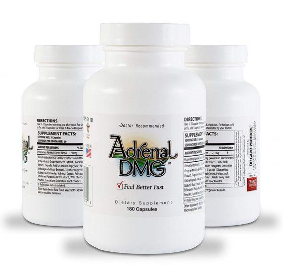 Adrenal DMG by Delgado Protocol, 3 bottles