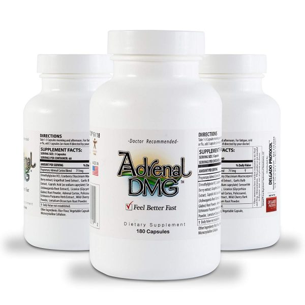 Adrenal DMG by Delgado Protocol, 3 bottles