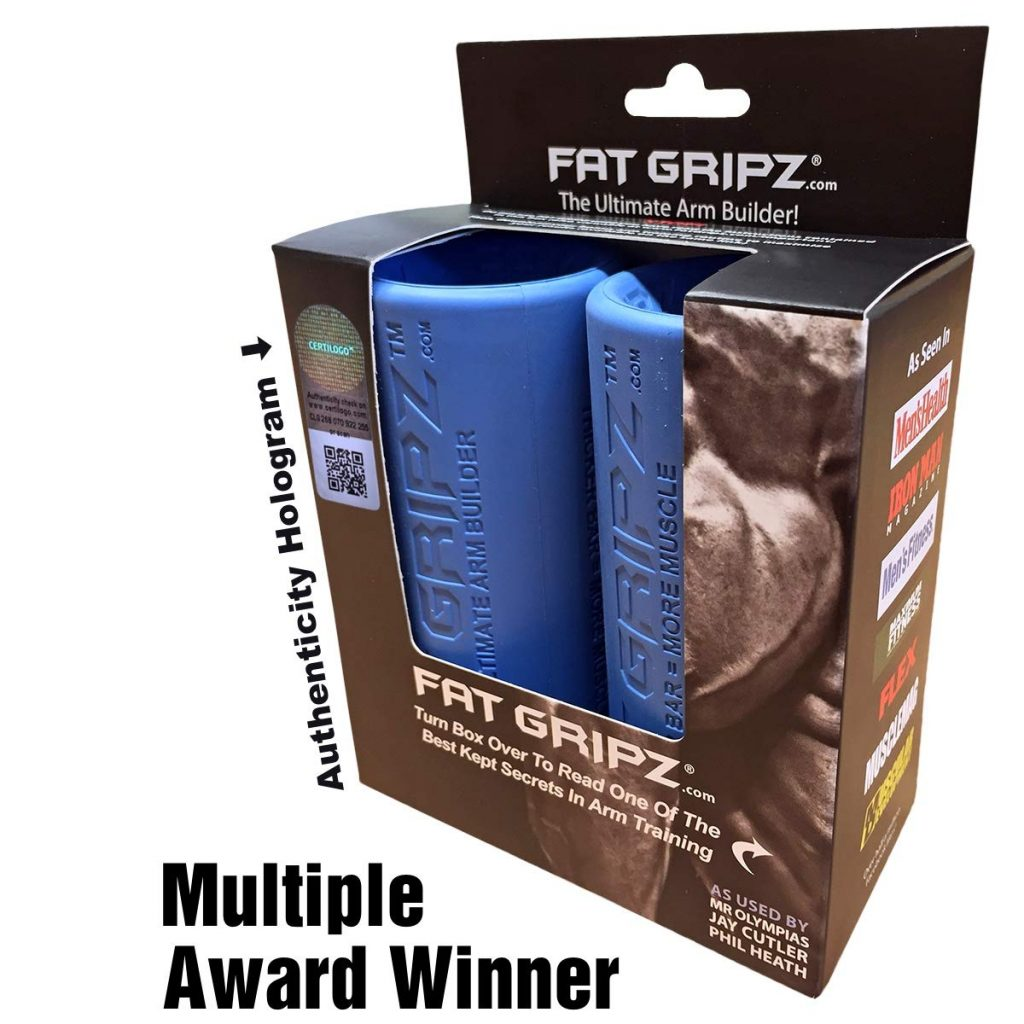 Build Bigger Arms and A Stronger Grip With Fat Gripz