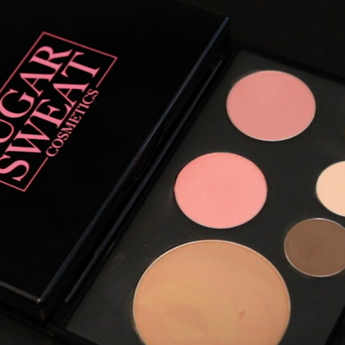 An image of a compact makeup from sugar sweat.
