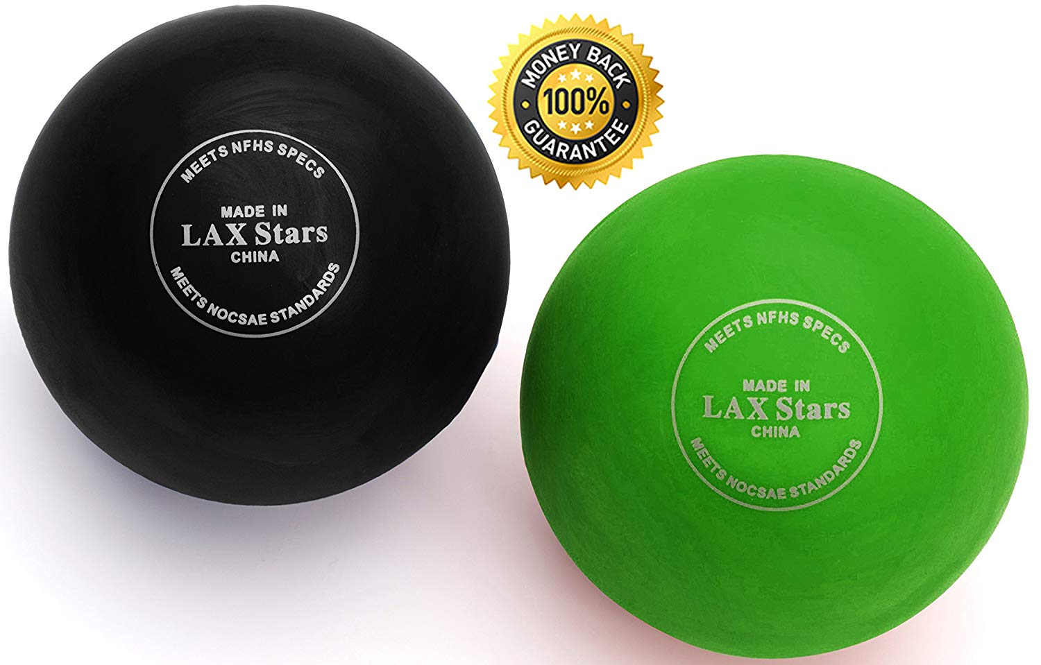 LAX Stars Lacrosse Balls Massage Ball Therapy