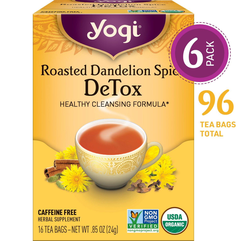 Yogi Tea Roasted Dandelion Spice DeTox Tea
