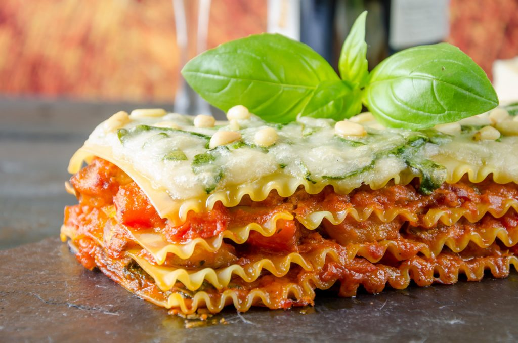 Beyond Meat Burger Lasagna is one of the best beyond meat recipes.