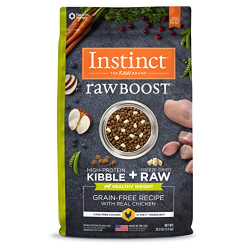 Instinct Raw Boost Healthy Weight Grain Free Recipe Natural Dry Dog Food (wellness trend)
