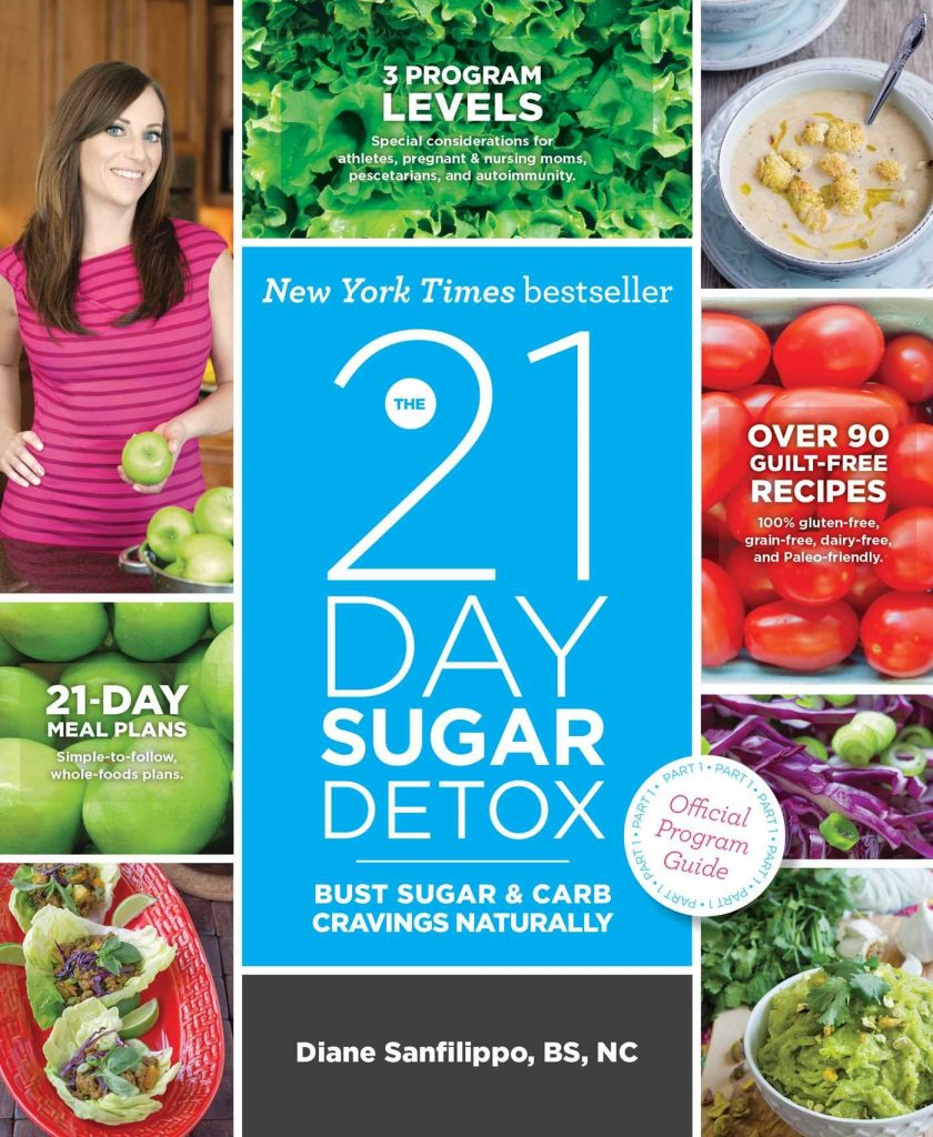 "The 21 Day Sugar Detox: Bust Sugar & Carb Cravings Naturally"" by Diane Sanfilippo"