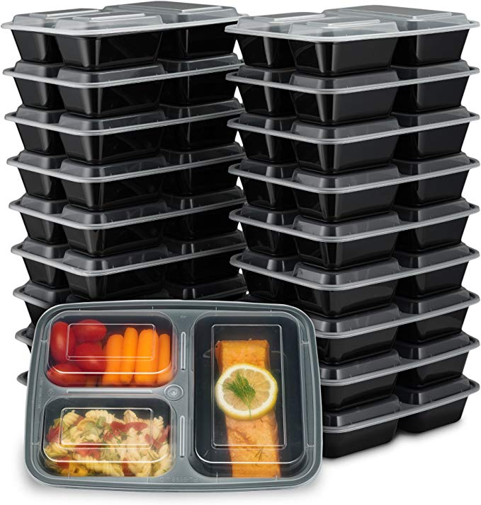 EZ Prepa meal prep containers as a fitness idea