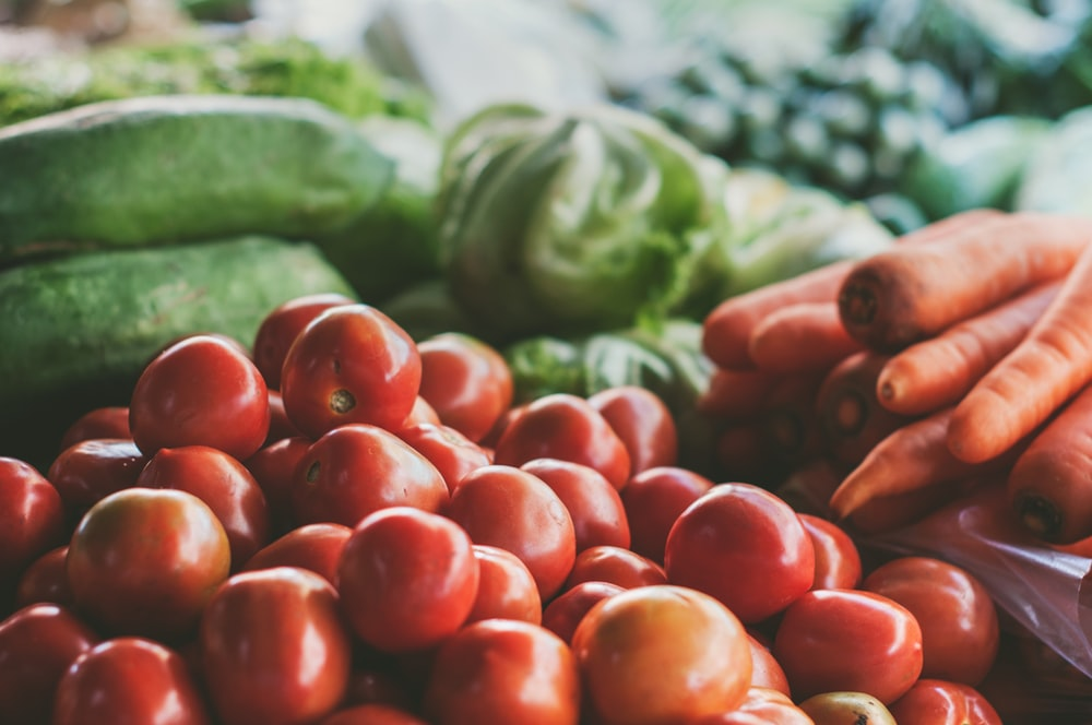 Fresh Vegetable Produce. How much fiber per day do you need to consume?