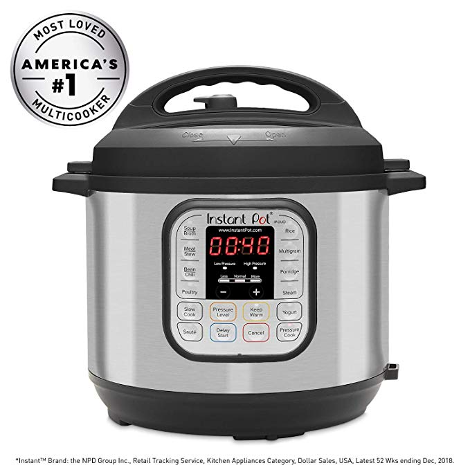 Instant Pot 7-in-1 Multi-Use Programmable Cooker for healthy meals