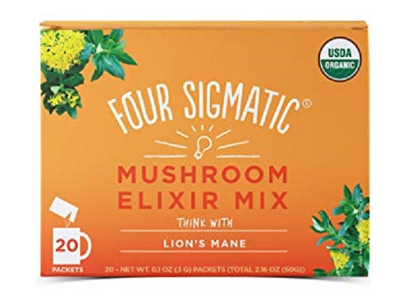 Four Sigmatic Organic Mushroom Elixir Mix with Lion's Mane