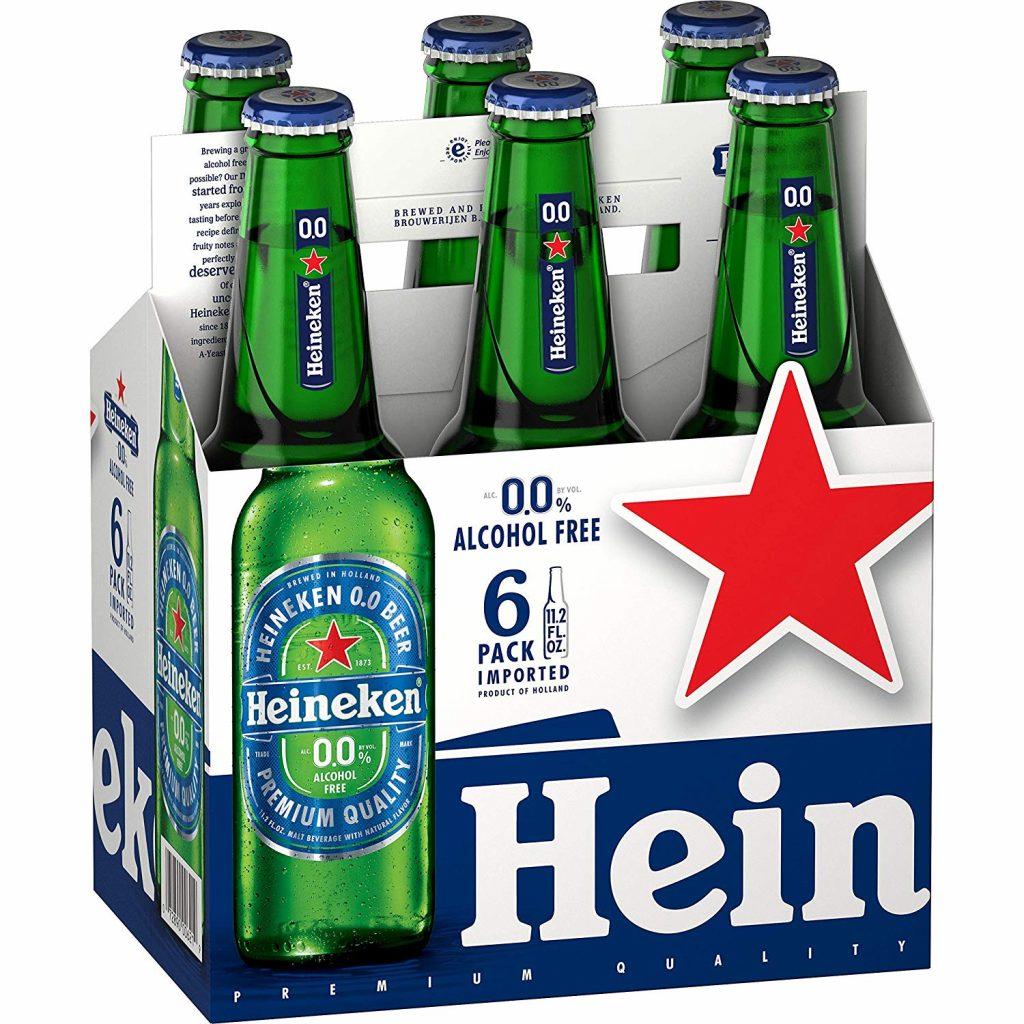 Heineken 0.0 alcohol-free beer 6 pack