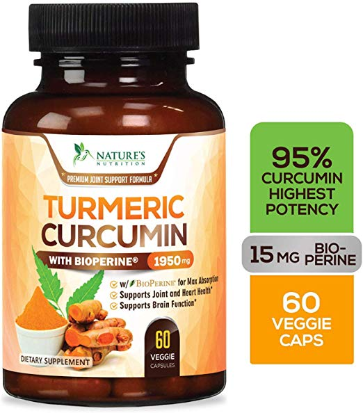 Nature's Nutrition Turmeric Curcumin Supplement