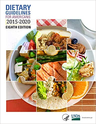 2015-2020 U.S. Dietary Guideline for Americans by the Office of Disease Prevention