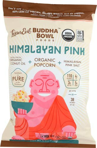 Lesser Evil Himalayan Pink Popcorn