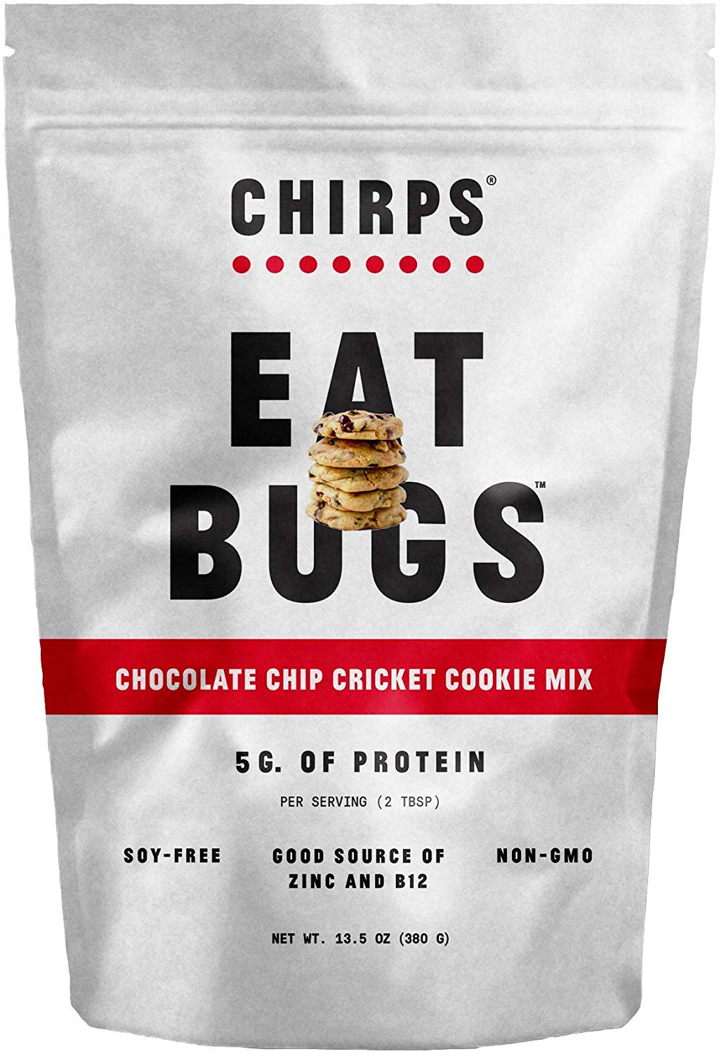 Chocolate Chip Cricket Cookie Mix with Cricket Powder