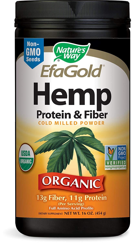 Nature's Way EfaGold Hemp Protein & Fiber Powder