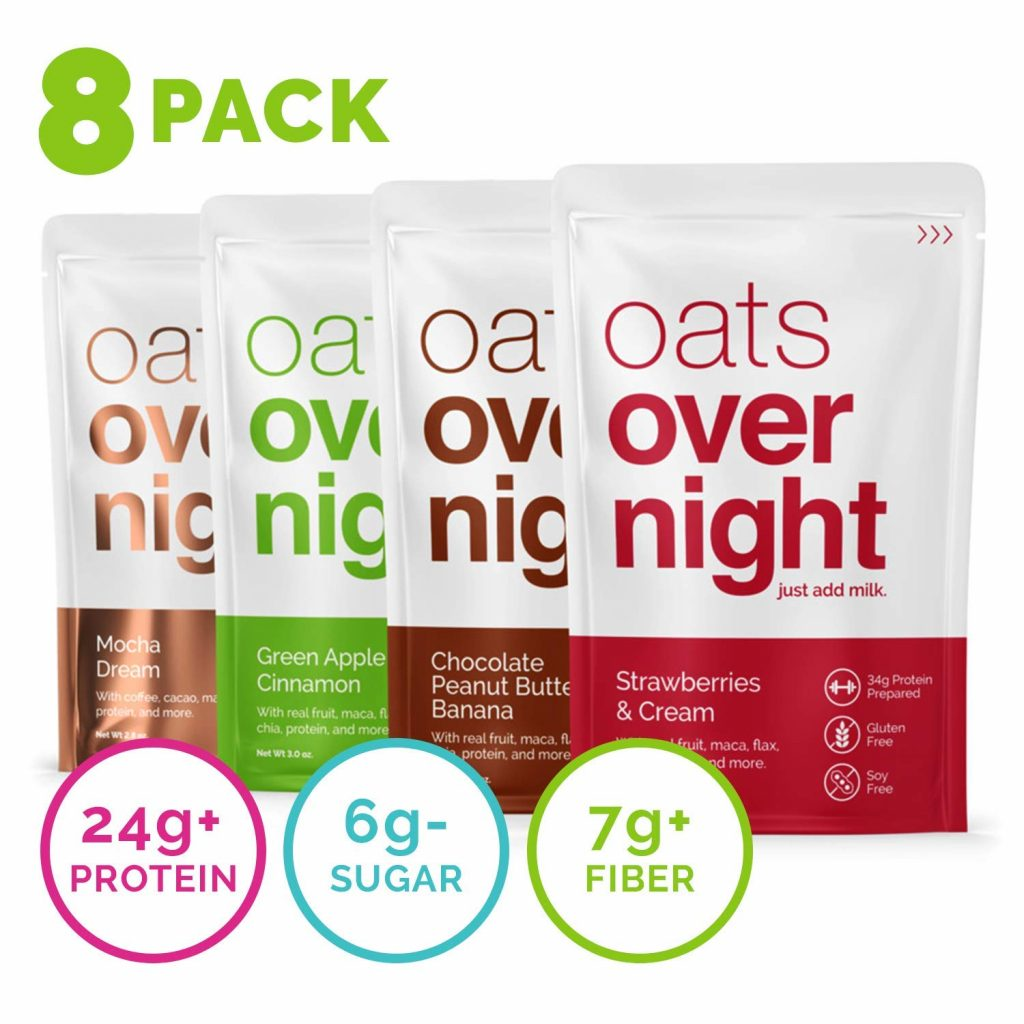 Oats Overnight Review: A Fiber- and Protein-Rich Breakfast