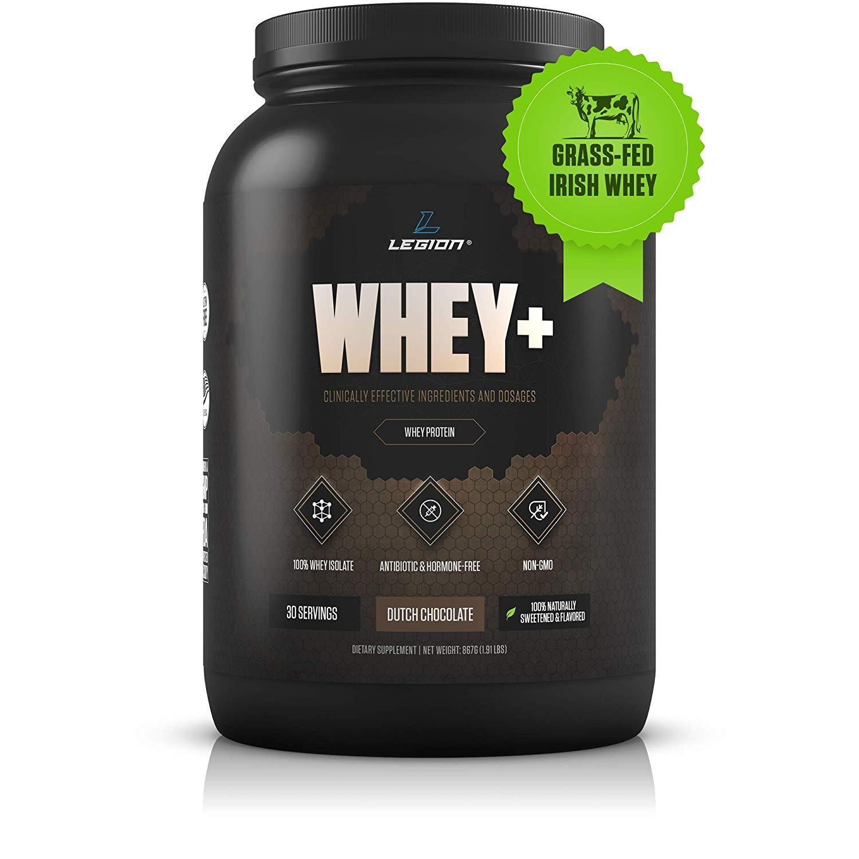 Legion Whey + Chocolate Whey Isolate Protein Powder