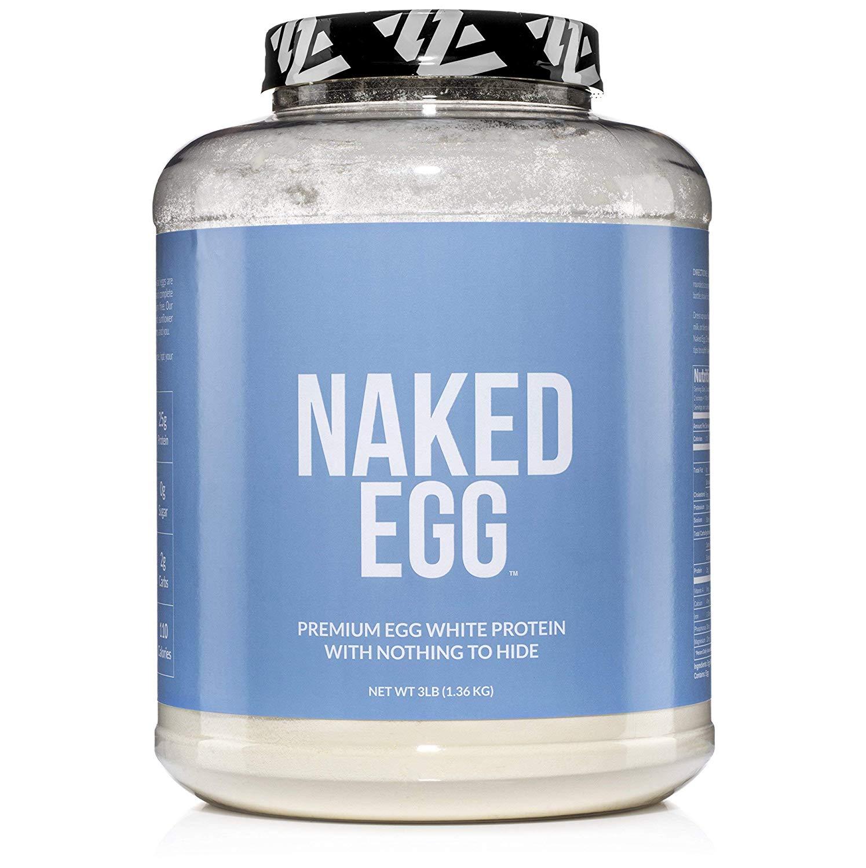 Naked Egg – Egg White Protein Powder