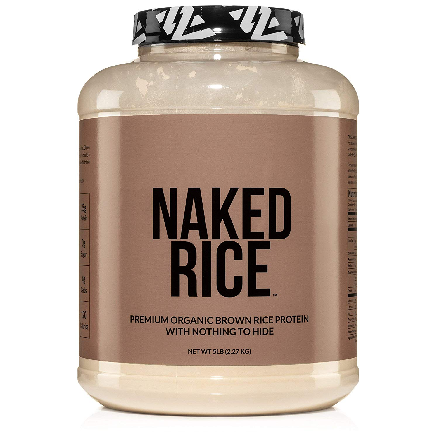 NAKED RICE Organic Brown Rice Protein Powder