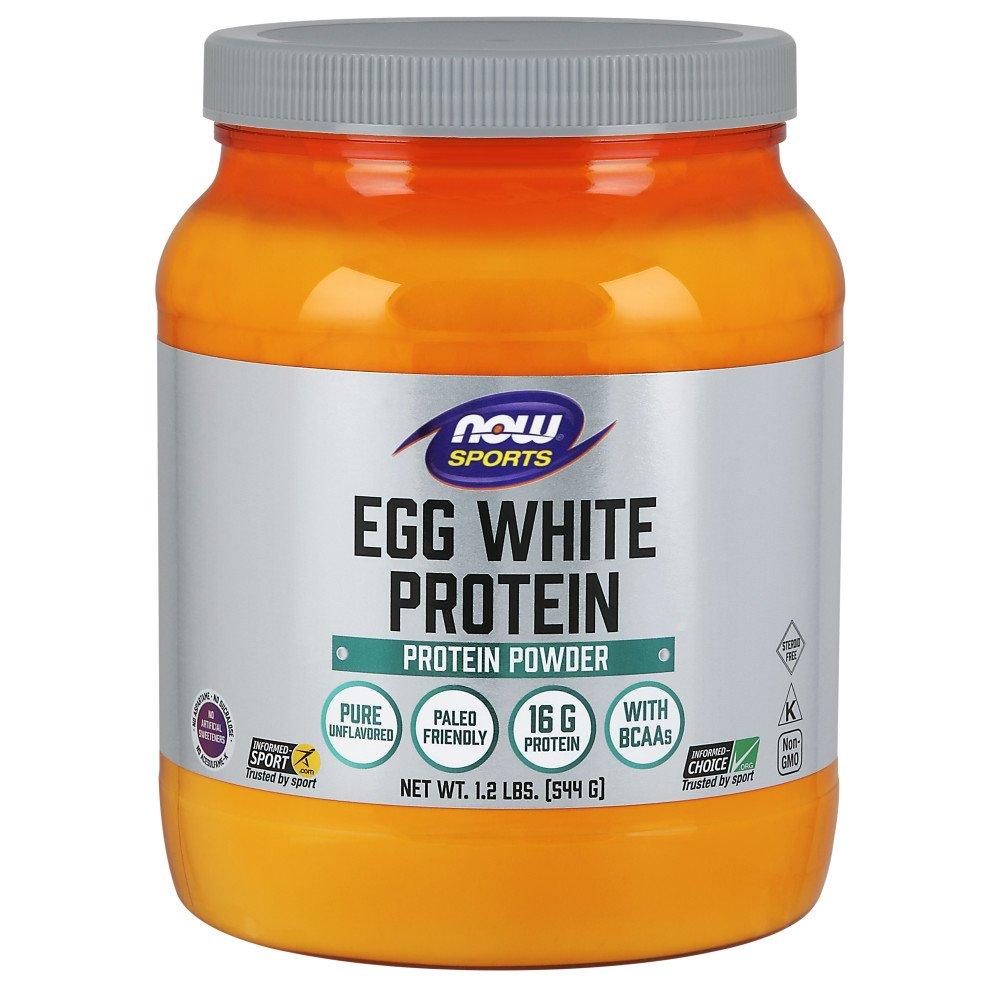 NOW Sports Nutrition Egg White Protein Powder