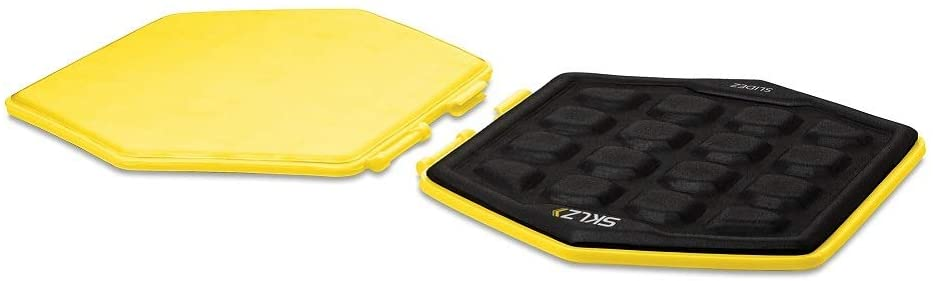 SKLZ Slidez Dual-Sided Exercise Glider Discs for Core