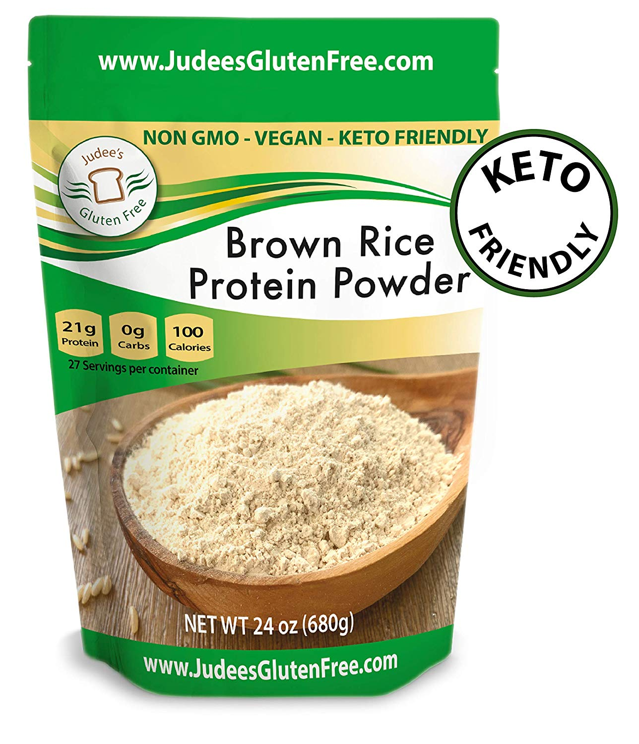 Judee's Gluten Free Brown Rice Protein Powder