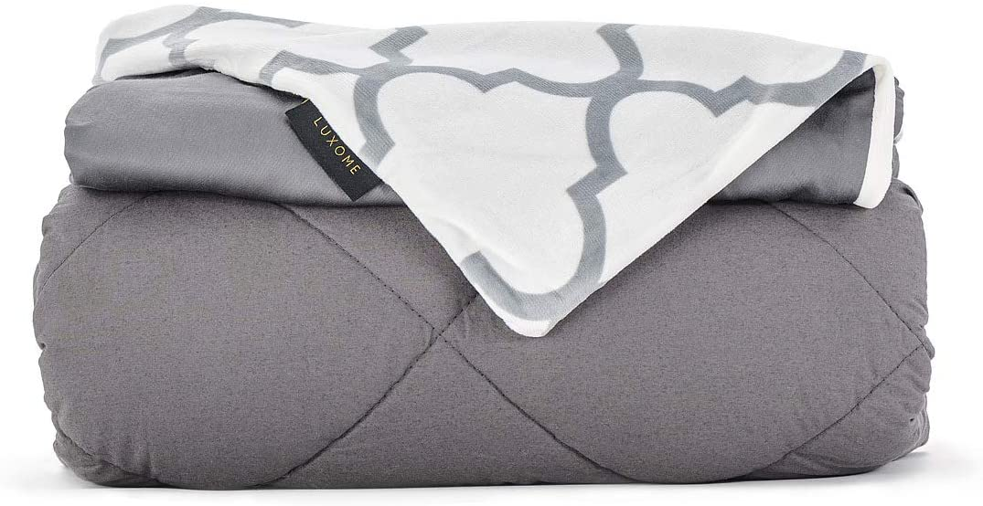 LUXOME Premium Adult Weighted Blanket