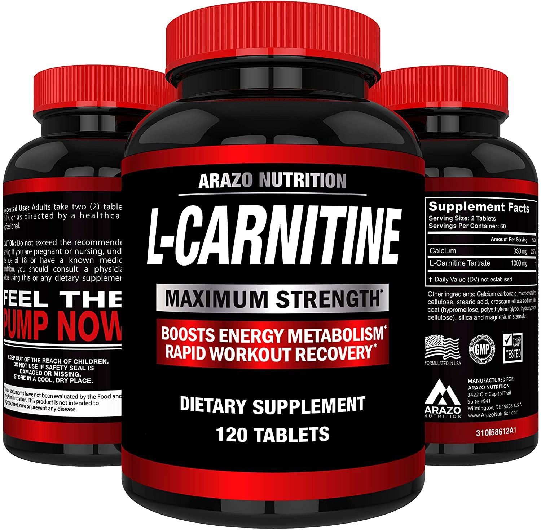 Arazo Nutrition Maximum Strength L-Carnitine