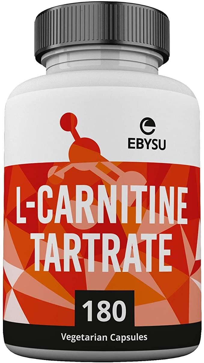 EBYSU L-Carnitine Tartrate Maximum Strength Capsules