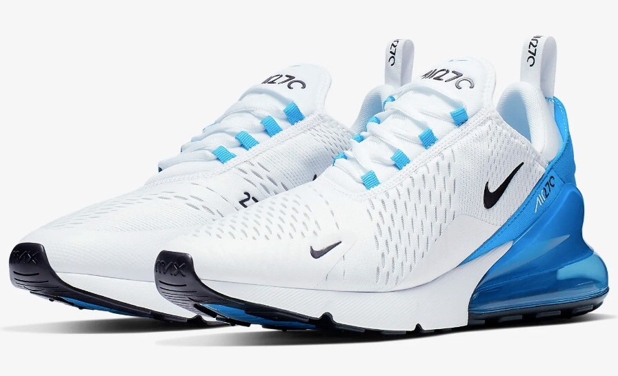 The Nike Air Max 270s is comfortable for running exercises.