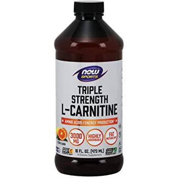 Now Sports Nutrition Triple Strength L-Carnitine Liquid