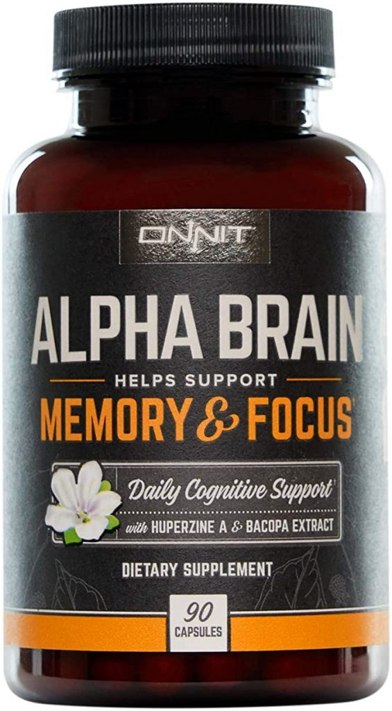 Alpha BRAIN by Onnit Review: A Nootropic Supplement