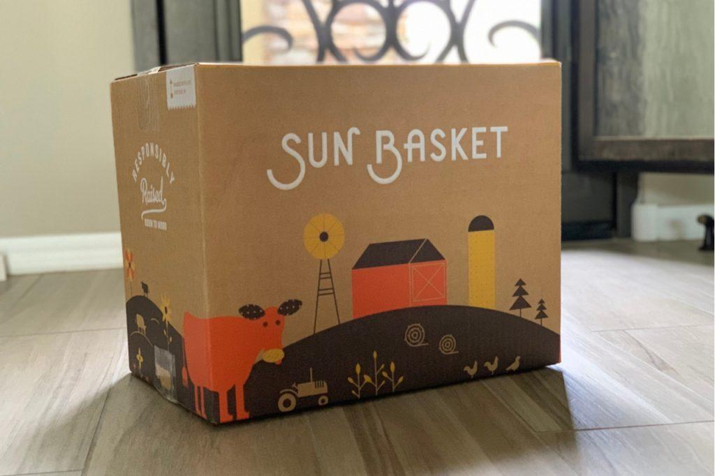 Sun Basket meal service box