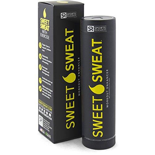 Sweet sweat gel with packaging.