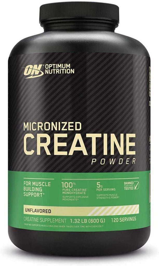Optimum Nutrition Micronized Creatine Monohydrate Powder