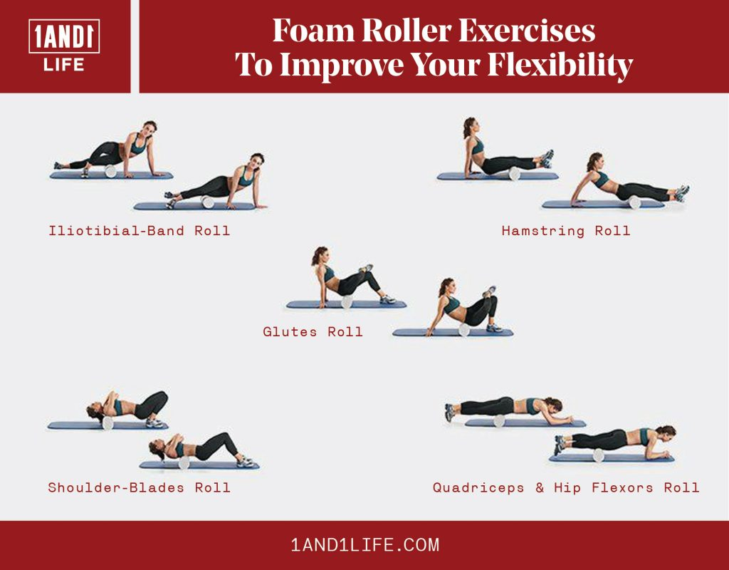 Foam Roller Exercises To Improve Your Flexibility