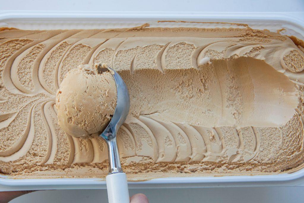 A tub of Protein Ice Cream Macros