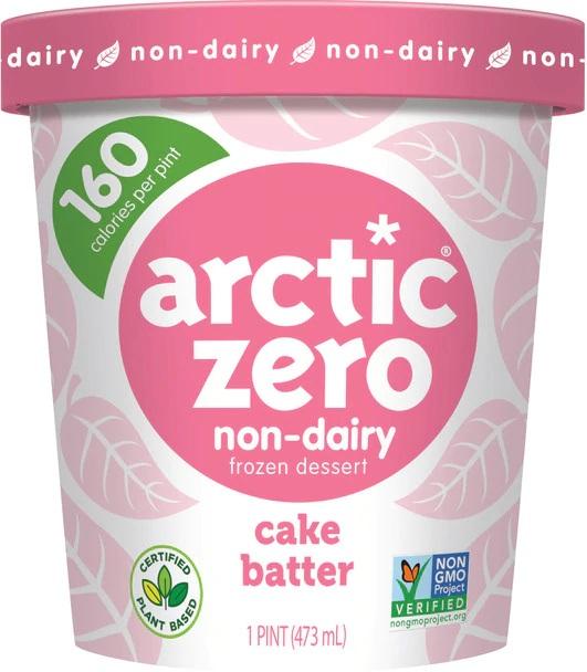 Arctic Zero, Non-Dairy Desserts, Cake Batter (Pint)