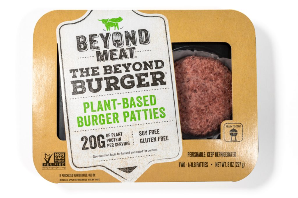 Beyond Meat Plant-Based Burger Patties