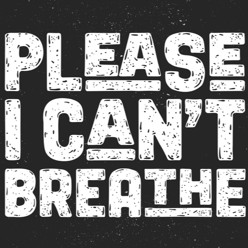 Please, I Can't breathe poster