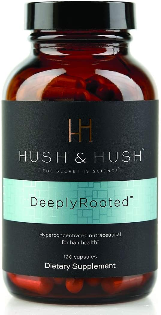 HUSH & HUSH DeeplyRooted Hair Growth Supplement- Hair Health Nutraceutical