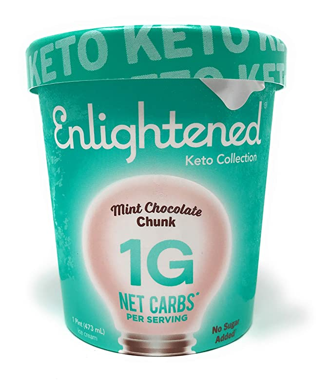 ENLIGHTENED Mint Chocolate Chunk Ice Cream (Pint)