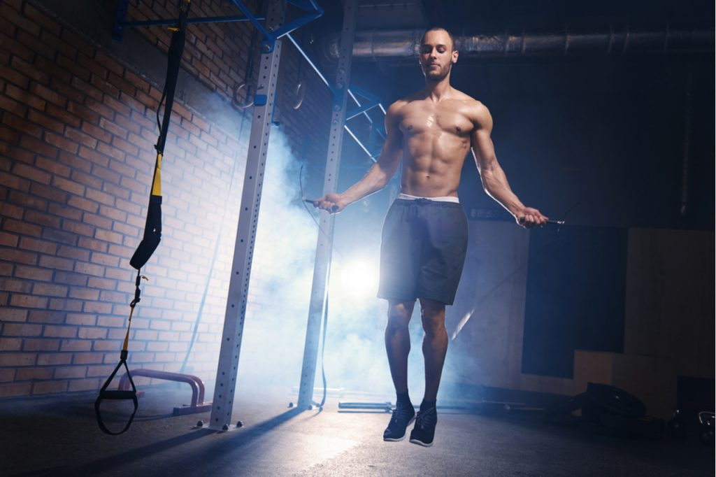 Skipping on jump rope is the best cardio.