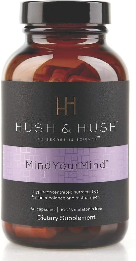 HUSH & HUSH MindYourMind Melatonin-Free Sleeping Aid Nutraceutical