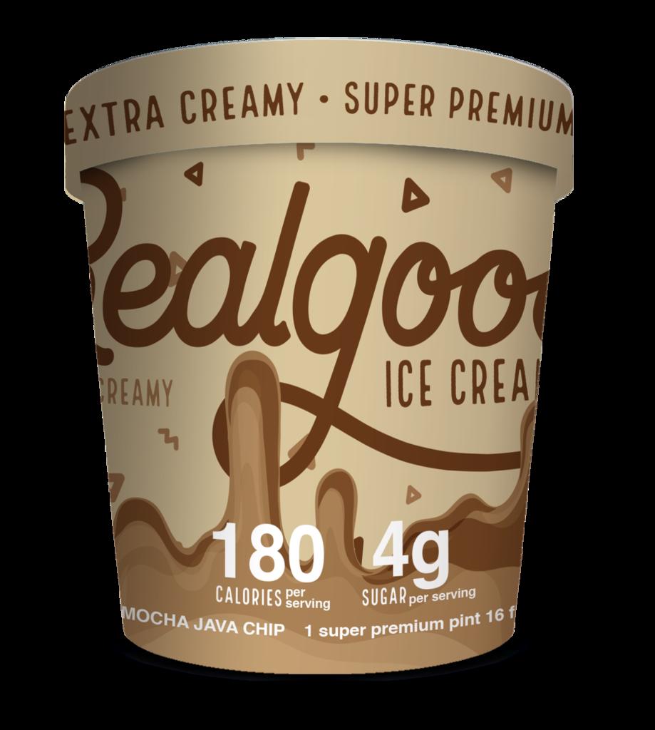 Realgood Super Premium Mocha Java Chip Ice Cream (4g)