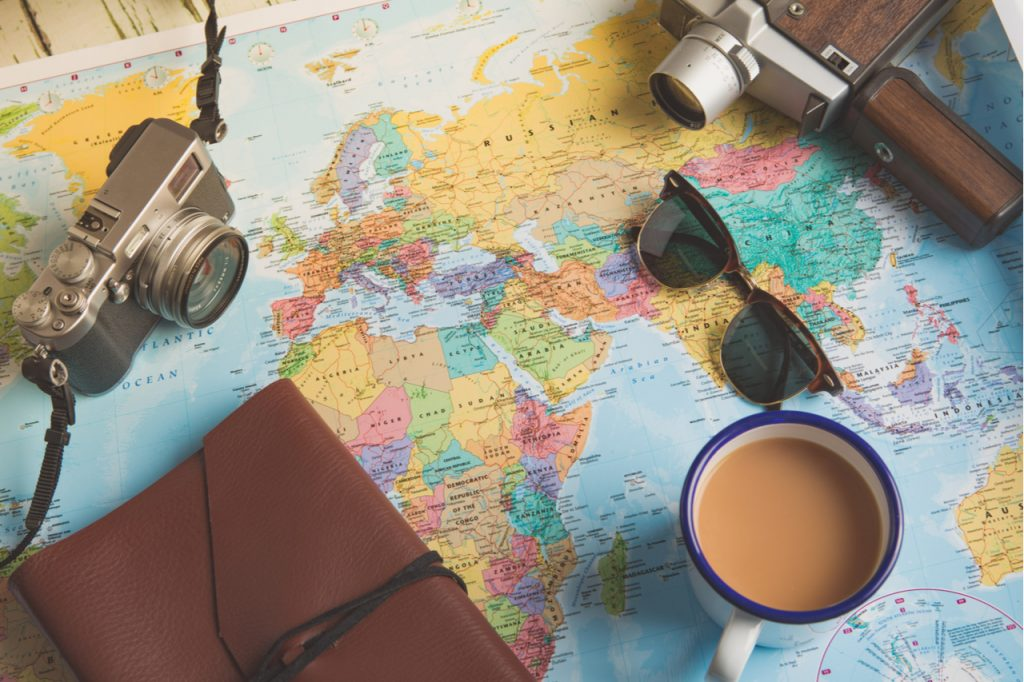 Travel Plans with a Map
