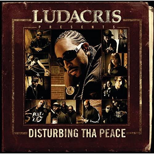 Vinyl record cover of Ludacris' Disturbing Tha Peace