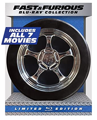 Fast & Furious Blu-Ray Collection Cover